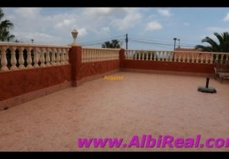 Piso en La Nucía con terraza grande y piscina comunitaria  LT01400